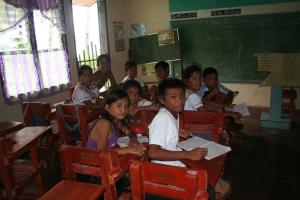 School children of Ayoke