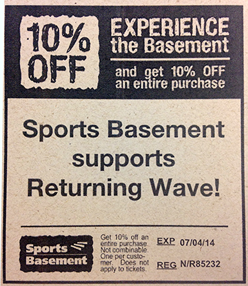 Details: Sports Basement offers the best prices on the best outdoor gear, apparel and rentals in the San Francisco Bay Area. Head over to their website now and get the opportunity to score 20% savings on Wintery Clothing and Footwear!